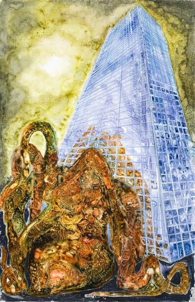 Steve DiBenedetto, 'Octopus & Building', 2008
