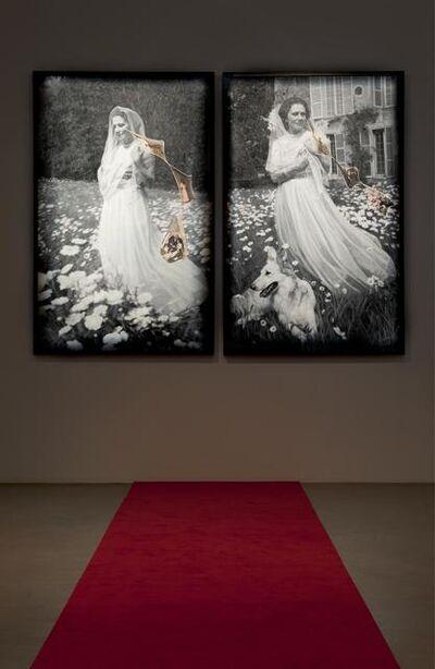 Francesco Vezzoli, 'Installation view: Olga Forever (Olga Picasso en mariée, Boisgeloup)', 2012