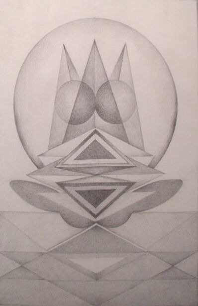 Gulam Rasool Santosh, 'Untitled (Pencil I)', No Date