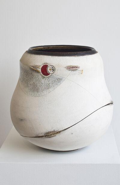 Andile Dyalvane, 'Scarified large Udu vase', 2009