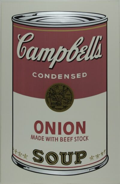 Andy Warhol, 'Campbell's Soup I, Onion F&S II.47', 1968