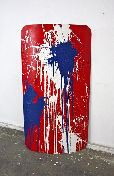 Avelino Sala, 'Action Riot Painting USA', 2017