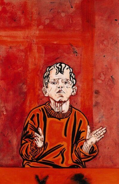 Tony Bevan, 'Portrait Boy', 1980-1990