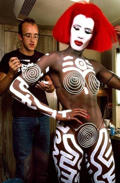 Douglas Kirkland, 'Keith Haring and Grace Jones Vamp', 1986