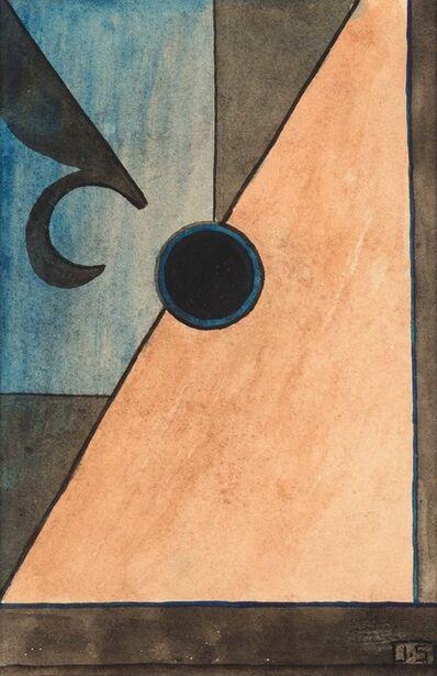 John Storrs, 'Abstraction, Fleur de Lis, circa', Circa 1930s