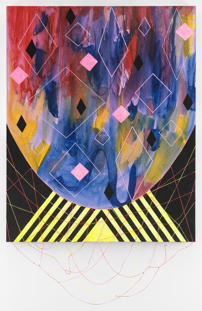 Sarah Cain, 'black magic', 2016