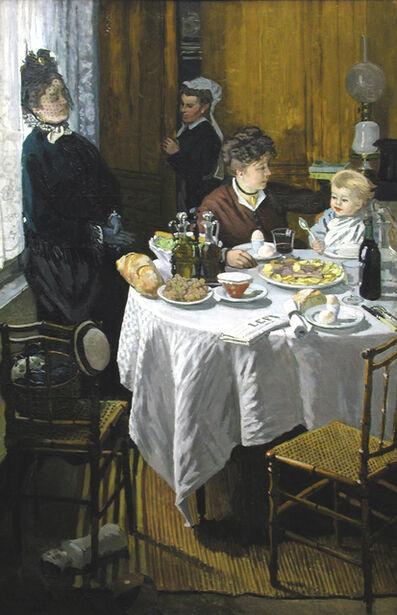 Claude Monet, 'The Luncheon (Le Déjeuner)', 1868