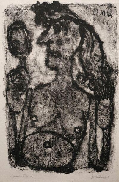Jean Dubuffet, 'Coquette au miroir', 1944