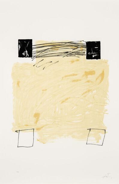Antoni Tàpies, 'Quatre carrés', 1984