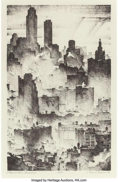 Mark Freeman, 'Manhattan Backdrop', 1933