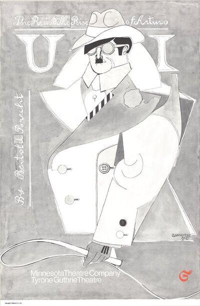 Richard Lindner, 'The Resistible Rise of Arturo Ui (B&W)', 1968
