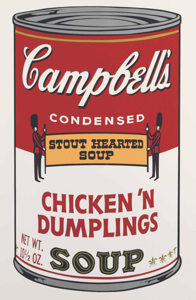 Andy Warhol, 'Campbell's Chicken 'N Dumplings Soup', 1968