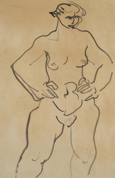 Jon Molvig, 'Nude', ca. 1957