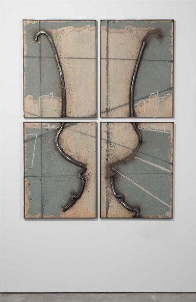 Juan Garaizabal, 'Wall pattern Vases Tuileries VI', 2014