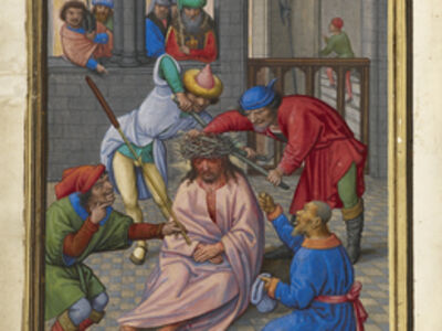 Simon Bening, 'The Crowning with Thorns', 1525-1530