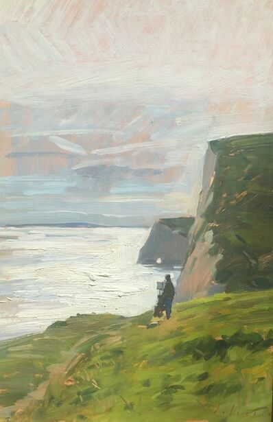 Marc Dalessio, 'Painter on the Jurrasic Coast', 2018