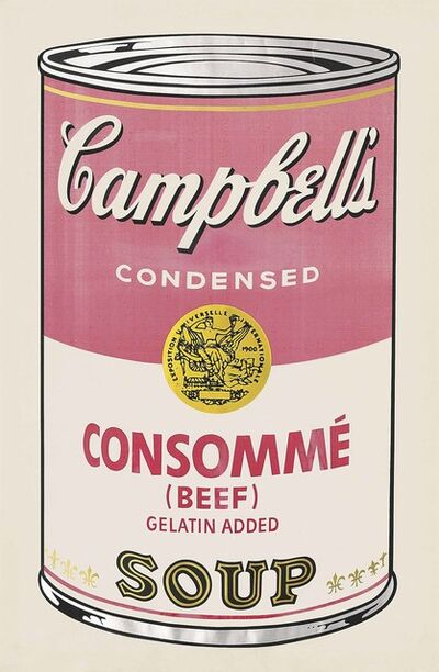 Andy Warhol, 'Beef Consommé, from: Campbell's Soup I', 1968