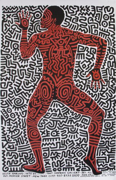Keith Haring, 'Keith Haring, Tony Shafrazi Gallery, Exhibition Poster', 1984