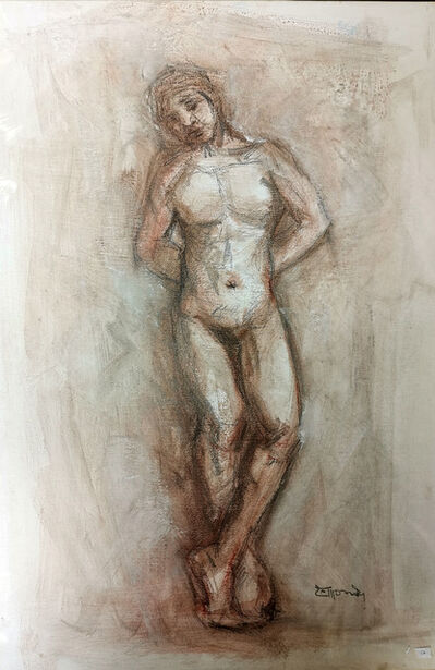 Monari, 'Standing Naked', 2018