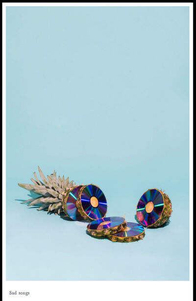 Sara Clarken, 'Sad Songs Poster', 2016