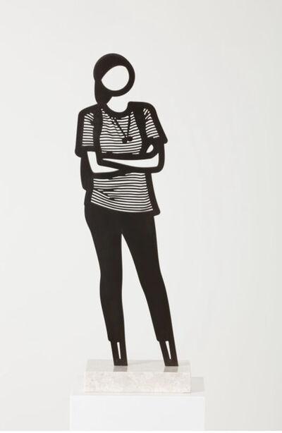 Julian Opie, 'Cap from the Boston Statuettes', 2020