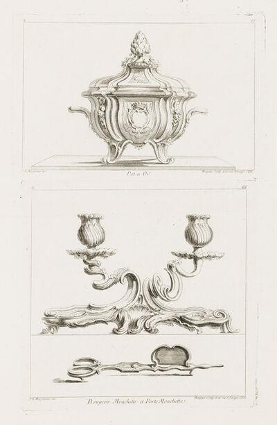 Juste-Aurèle Meissonnier, 'Terrine, 5th Plate', 1740