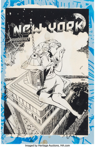 FAILE, 'Love Me, Love Me Not (double sided work)', 2016