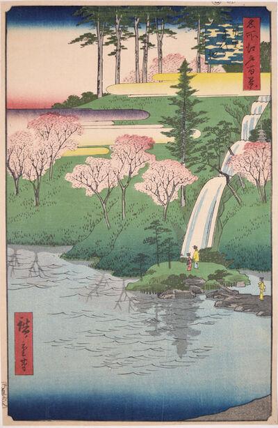Utagawa Hiroshige (Andō Hiroshige), 'Chiyogaike, Meguro', 1856