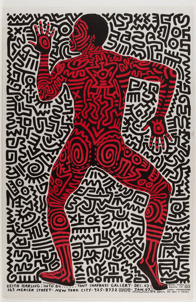 Keith Haring, 'INTO 84 ', 1983