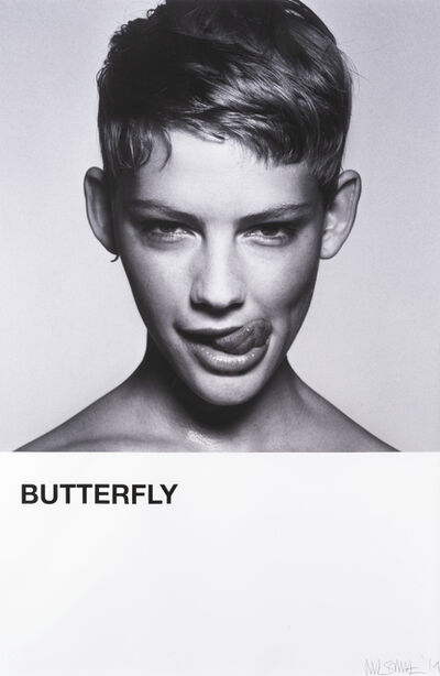 Rankin, 'Butterfly (Emily Close Up)', 2019