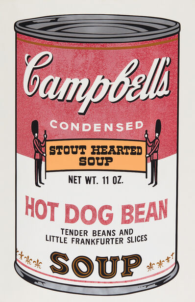 Andy Warhol, 'Hot Dog Bean, from Campbell's Soup II', 1969