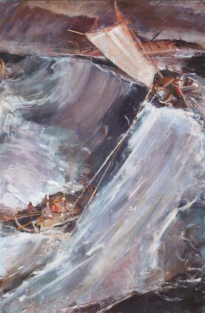 Jörg Ernert, 'Nach Turner Schiffbruch 5. Fassung (After Turner Shipwreck 5. version)', 2009