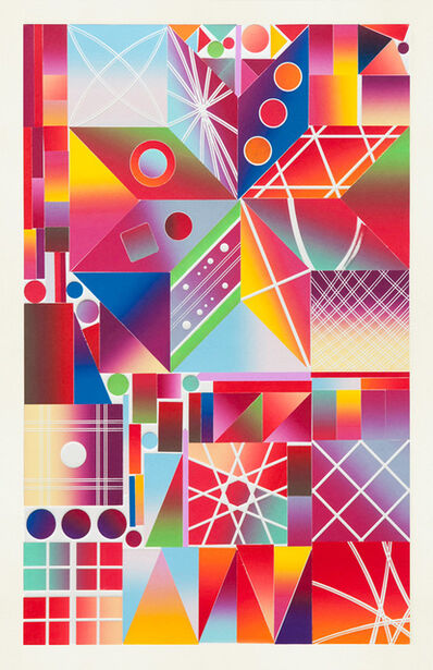 Polly Apfelbaum, 'Atomic Mystic Aura 9', 2017