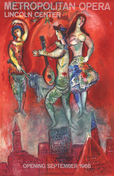 Marc Chagall, 'Carmen', 1966