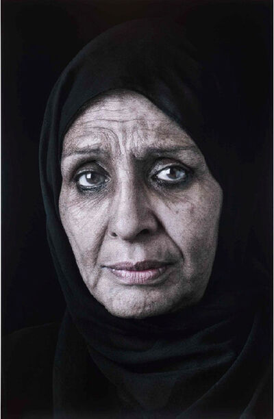 Shirin Neshat, 'Ghada (Mourners) from the Book of Kings Series', 2013