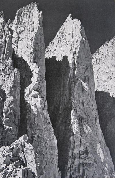 Ansel Adams, 'Whitney Pinnacles (East Face)', 1939