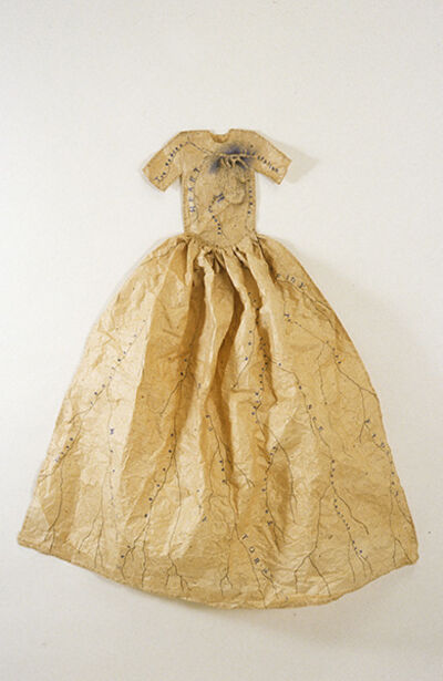Lesley Dill, 'Poem Dress of Circulation', 1993