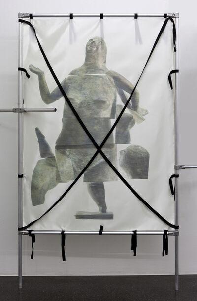 Yorgos Sapountzis, 'Nacktes Erbe: Lob der Torheit, 1960', 2017