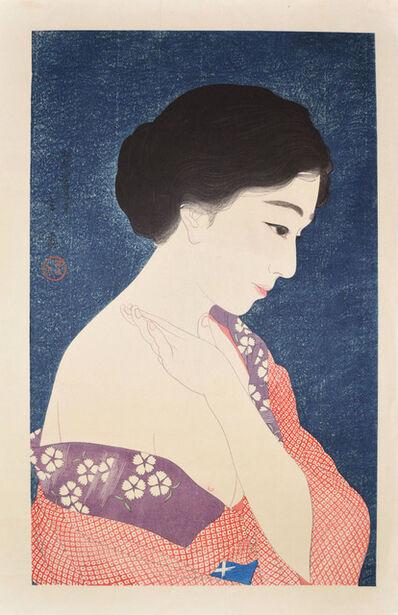 Kotondo Torii, 'Applying Make-up', June 1929