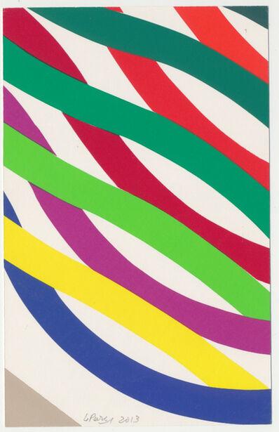Julio Le Parc, 'Pochoir unico #42', 2013
