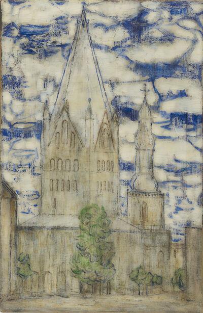Christian Rohlfs, 'Petri- und Patrocli-Turm in Soest', 1906