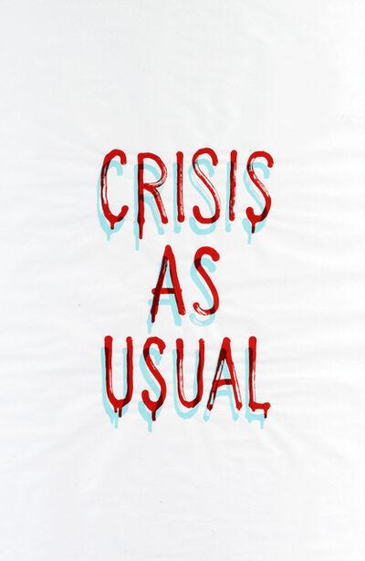 Banksy, 'Crisis As Usual, Rat & Flowers', 2019