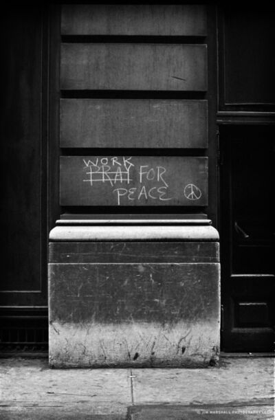 Jim Marshall, 'Work For Peace', 1962