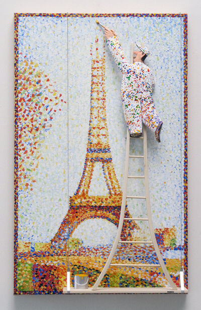 Stephen Hansen, 'The Eiffel Tower :Seurat,', 2016