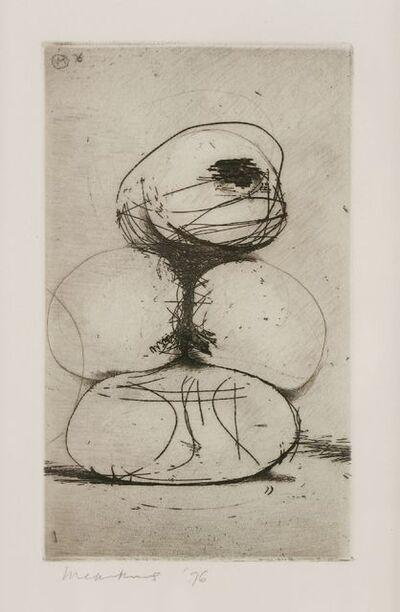 Bernard Meadows, 'UNTITLED (WATCHING FIGURE)', 1976