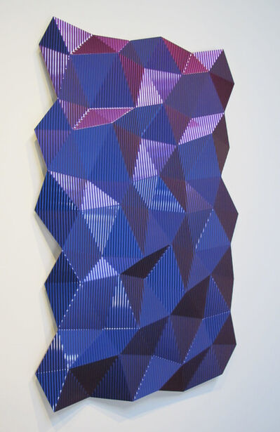 Christian Eckart, 'Hexagonal Perturbation (Violet)', 2011