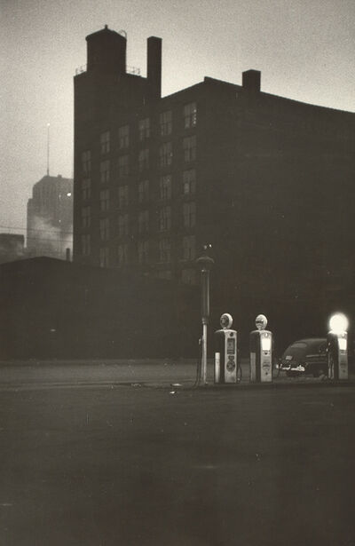 Robert Frank, 'Gas Station, Chicago', 1956