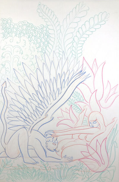 ALPHACHANNELING, 'Fallen Angel and the Virgin Whore - In the Deep Forest', 2015