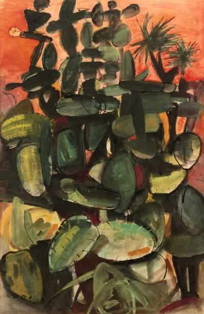 Louis Ribak, 'Cactus: San Miguel', 1950s