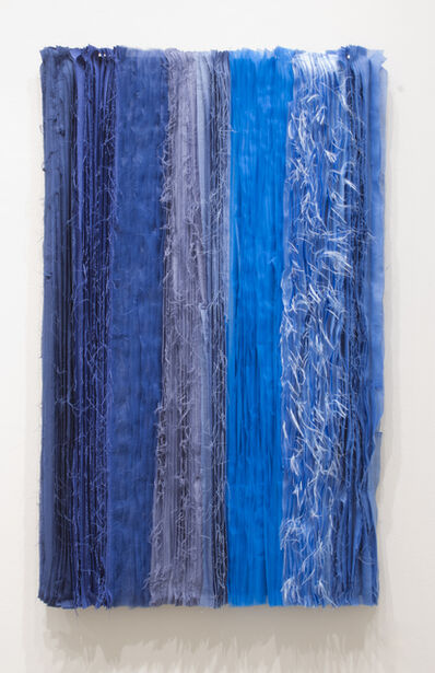 Joël Andrianomearisoa, 'Blue take me to the end of all loves (11)', 2019